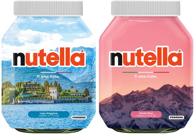 nutella monte rosa lago